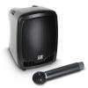 LD Systems Roadboy 65 B6 (655 - 679 MHz) przenośny zestaw nagłośnieniowy z podwójnym mikrofonem bezprzewodowym doręcznym