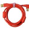 DJ TECHTOOLS Chroma Cable kabel USB 1.5m łamany (czerwony)