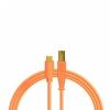 DJ TECHTOOLS Chroma Cable kabel USB-C (pomarańczowy)