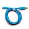 DJ TECHTOOLS Chroma Cable kabel USB-C (niebieski)