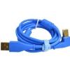 DJ TECHTOOLS Chroma Cable kabel USB 1.5m łamany (niebieski)