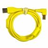 DJ TECHTOOLS Chroma Cable kabel USB 1.5m łamany (żółty)