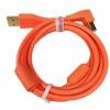 DJ TECHTOOLS Chroma Cable kabel USB 1.5m łamany (pomarańczowy)