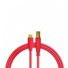 DJ TECHTOOLS Chroma Cable kabel USB-C (czerwony)