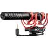 Rode VideoMic NTG on-camera shotgun microphone, USB, SM7-R elastic clamp