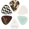 Fender Material Medley 351 guitar pick set, 6 pcs., thin