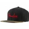 Fender Camo Flatbill Hat