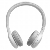 JBL Live 400BT WHT on-ear wireless headphones, white