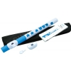Nuvo NUTO430WBL Toot Flute, tone C, white/blue