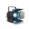 Cameo TS 200 FC Theater Spot with Fresnel Lens and 200 W 6-in-1 LED in Black Housing