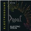Dogal E170 Electrosound Chrome Electric Violin Strings, 4/4 Ball End