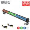 Flash Pro LED WASHER 18X10W RGBW 4in1 3 SECTIONS 45° BEAM ANGLE MK2 LEDBAR professional light bar