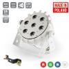 Flash Pro LED PAR SLIM 7x10W RGBW 4in1 15° WHITE HOUSING WIRELESS DMX mk2 płaski reflektor LED biała obudowa