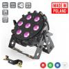 Flash Pro LED PAR SLIM 7x10W RGBW 4in1 15° WIRELESS DMX mk2 płaski reflektor LED