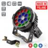 Flash LED PAR 64 19x10W RGBW 4in1 IP65