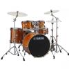 Yamaha SBP2F5-HA6W Stage Custom Birch Kit Honey Amber (22x17″ Bass Drum), 600w series hardware