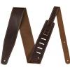 Fender Broken-in 2,5″ Brown leather guitar strap